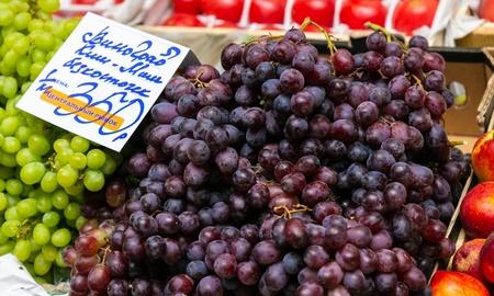 торговля виноградом